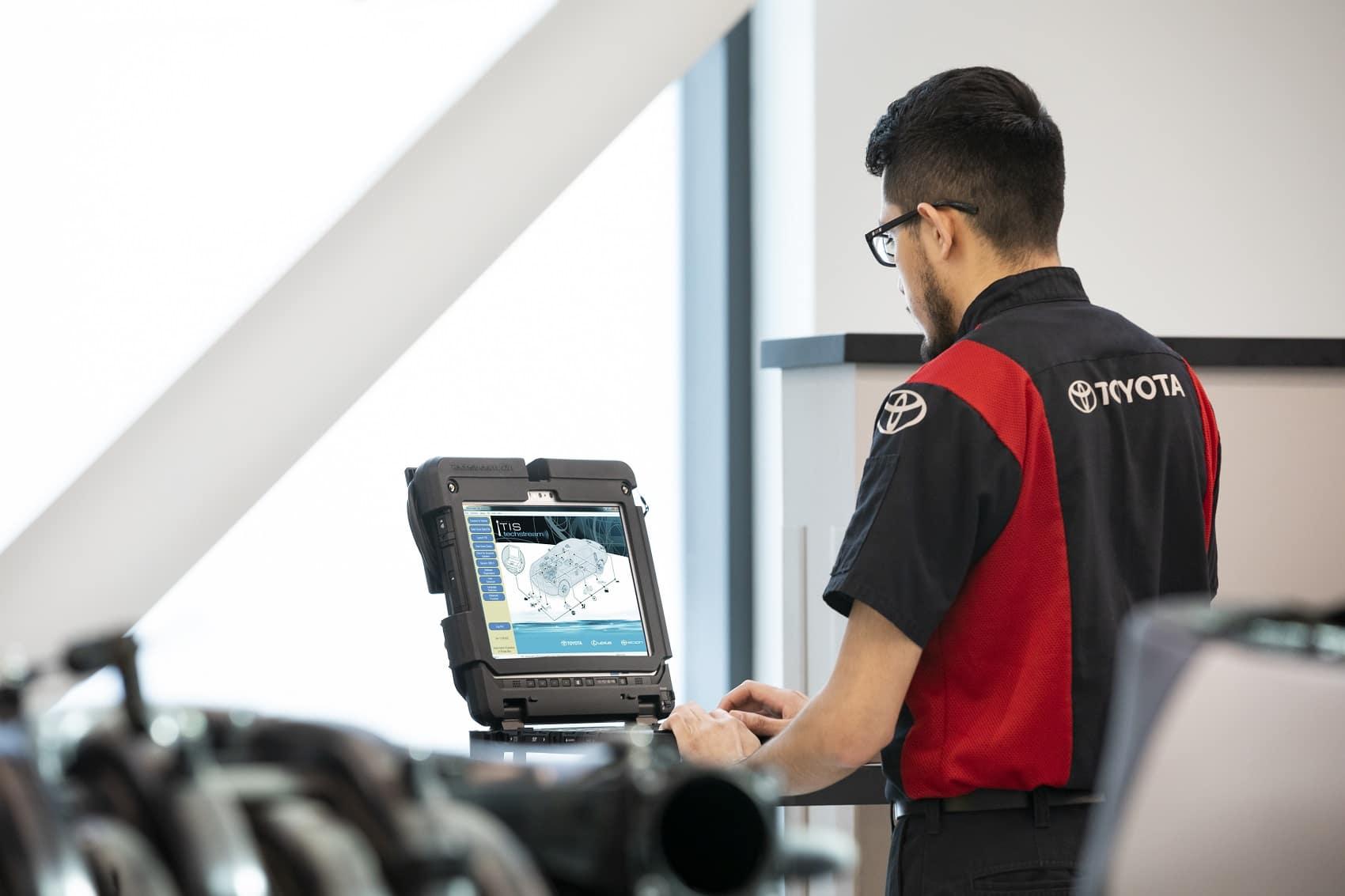 Toyota Service Inspection