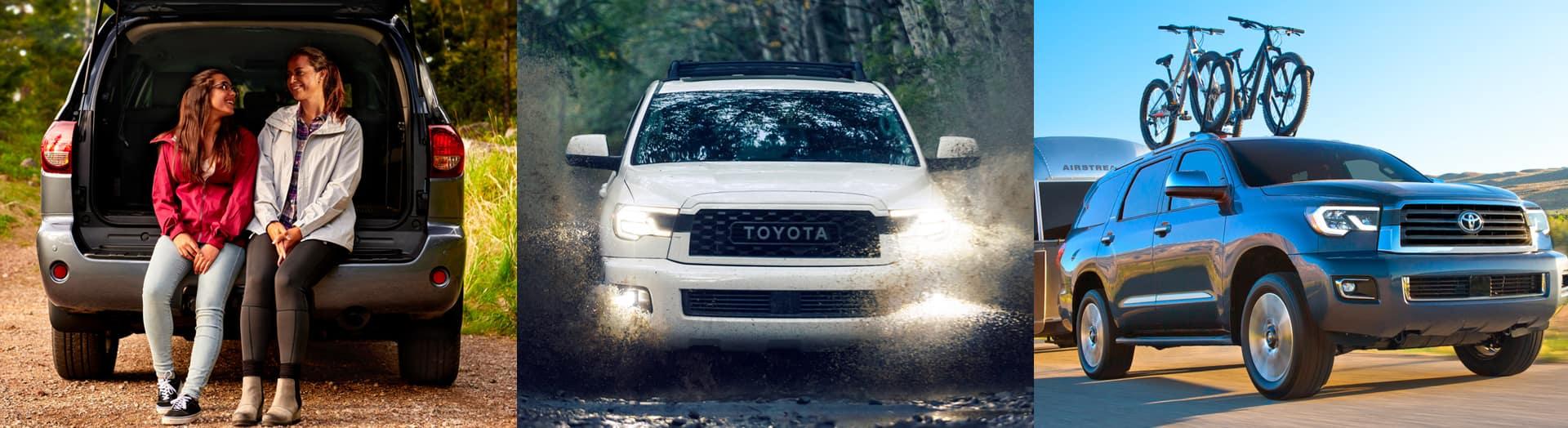 2020 Toyota Sequoia towing capacity