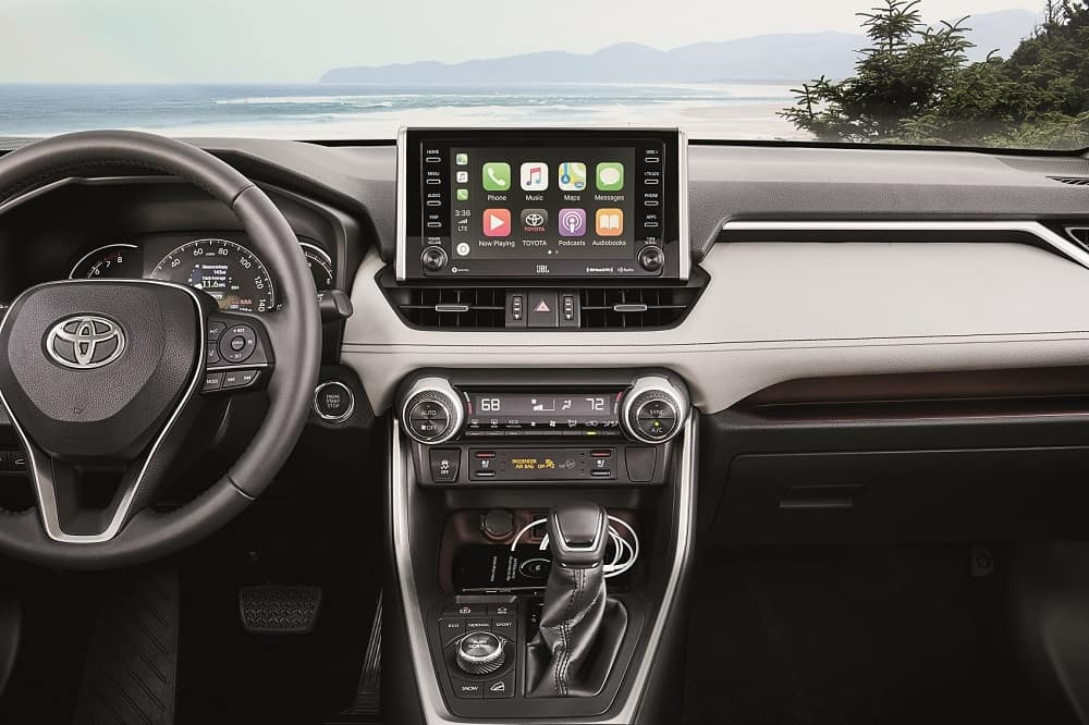 Toyota RAV4 Interior Apple CarPlay® Technology
