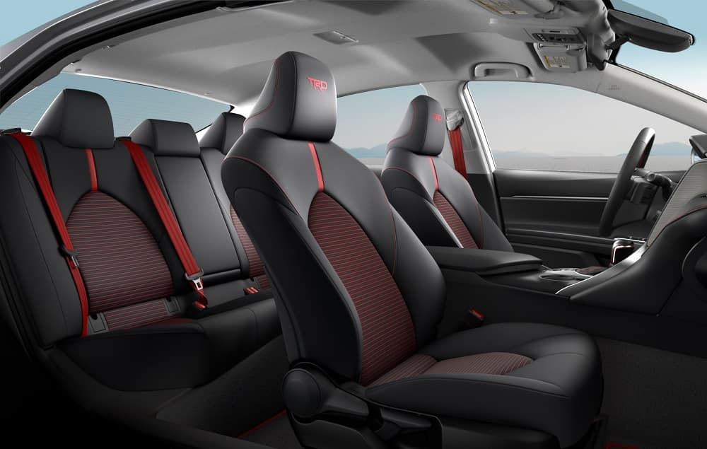 2020 Toyota Camry Interior Space