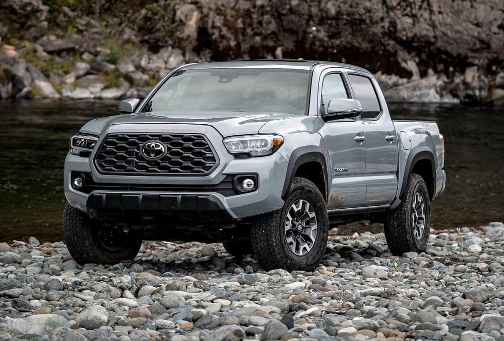 Cement Grey 2020 Toyota Tacoma Off-Road