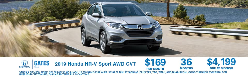 2019 Honda CR-V Sport AWD CVT at Gates Honda