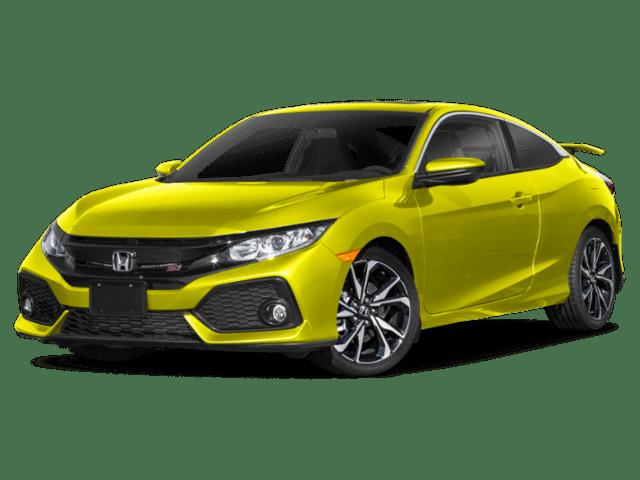 2019 Honda Civic in green yellow