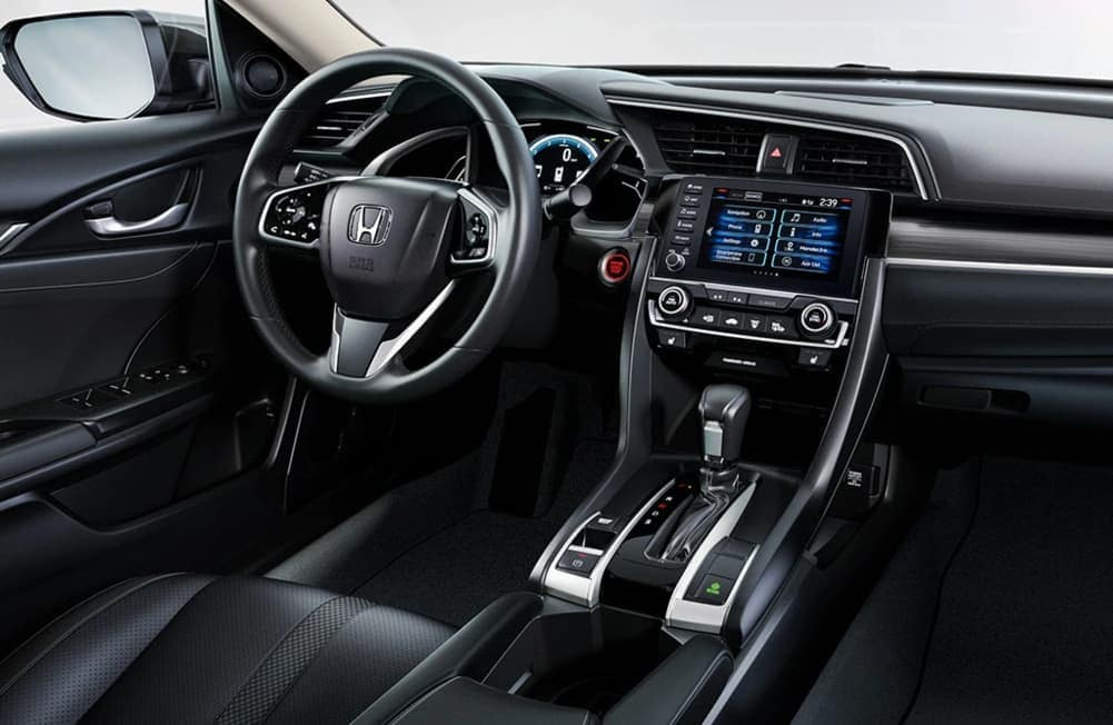 2020 Honda Civic interior dashboard technology