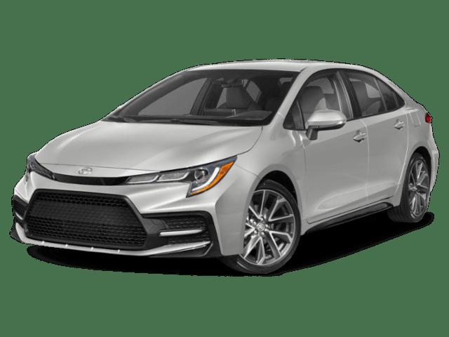 2020 Toyota Corolla in silver