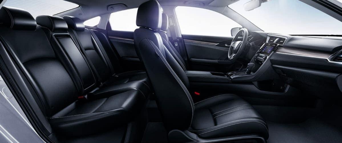 2020 Honda Civic interior passenger volume