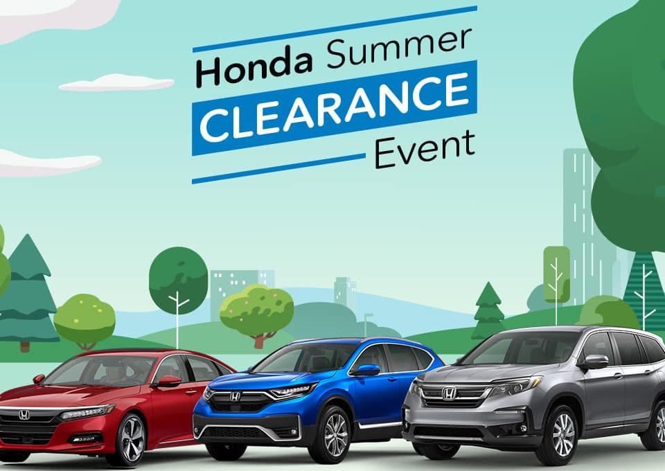 Honda Clearance Event at Gates Honda!