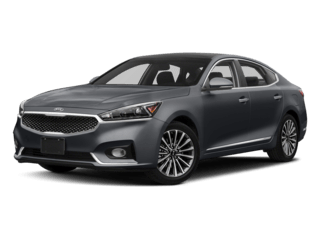 Angled view of the Kia Cadenza