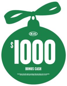 $1,000 Bonus Cash