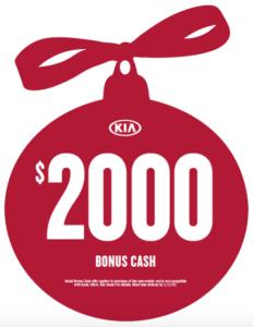 $2,000 Bonus Cash