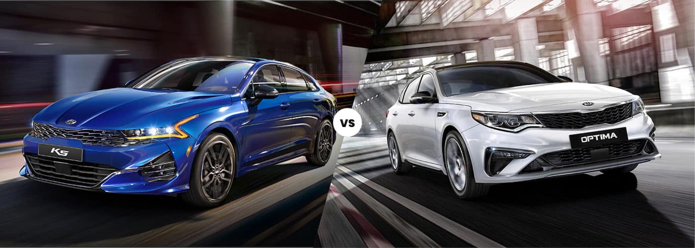 2021 Kia K5 vs. 2020 Kia Optima