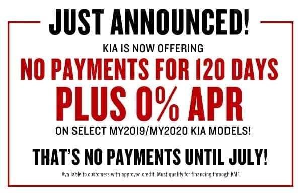 No Payments Until July!