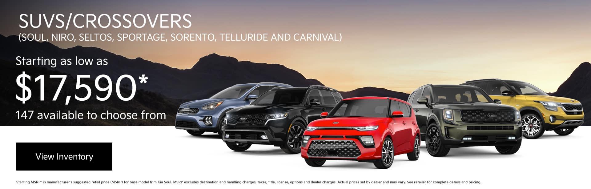 Kia SUVs and Crossovers