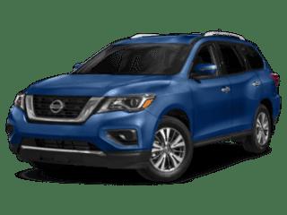 2019 Nissan Pathfinder angled