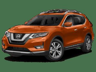 2019 Nissan Rogue angled