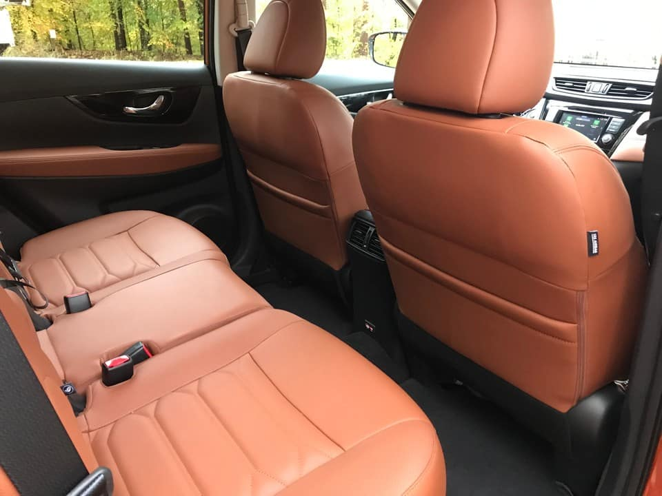 2019 Nissan Rogue back seat