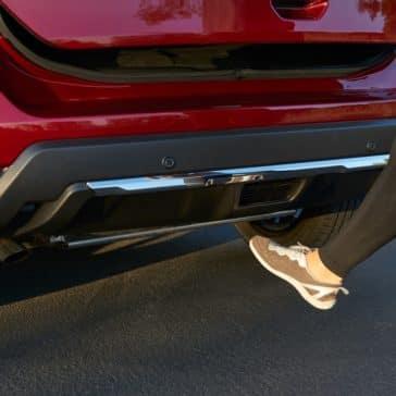 2020 Nissan Rogue foot