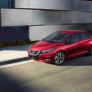 2020 Nissan Versa Parked