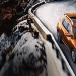 2020 Nissan Rogue on Mountain Road