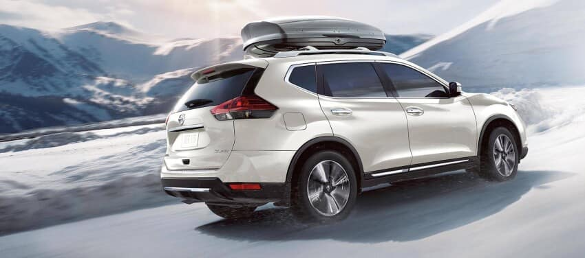 2020 Nissan Rogue with Cargo Box
