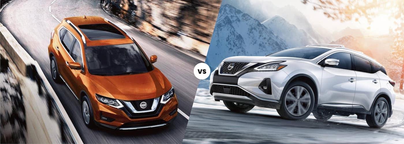 2020 Nissan Rogue vs. 2020 Nissan Murano