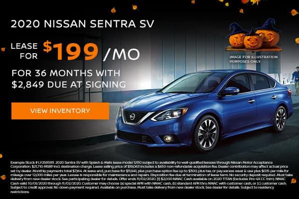New 2020 Nissan Sentra