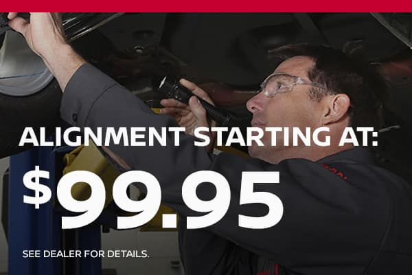 alignment starting at 99.95