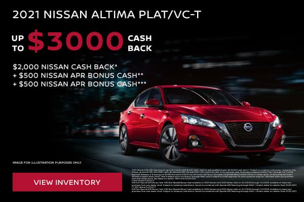 New 2021 Nissan Altima