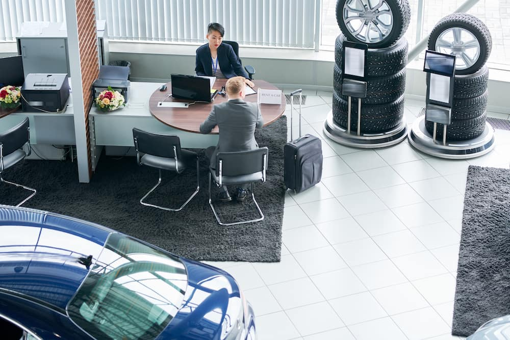 Comfort amenities at the Hanover Nissan dealership | Inside of a dealership