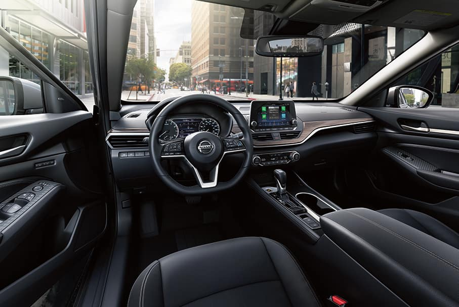 Model Features of the 2020 Nissan Altima at Hanover Nissan of Hanover | the interior of the nissan altima