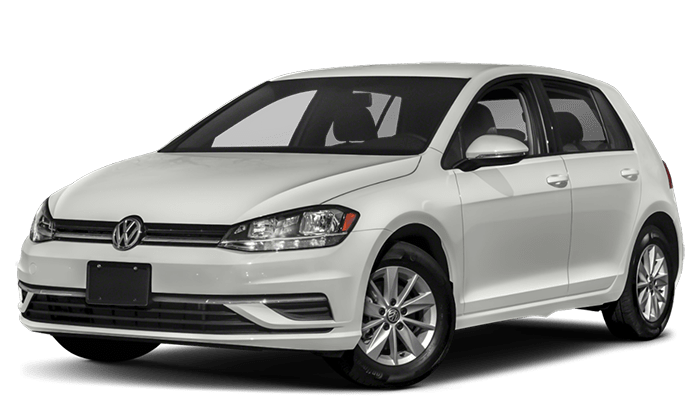 2019 VW Golf White