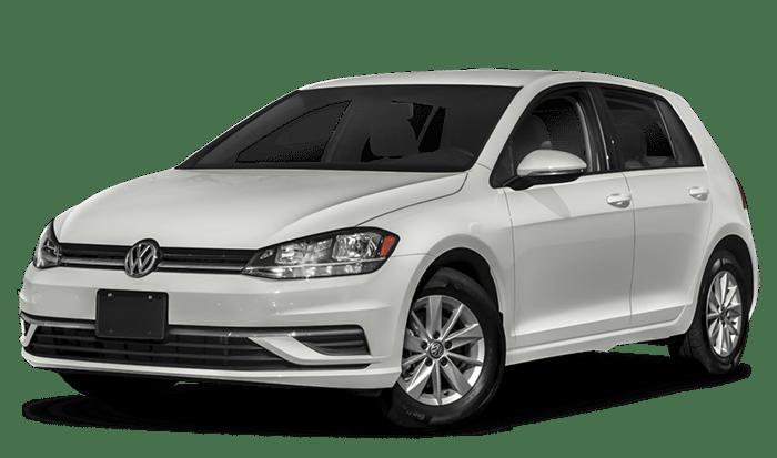 2019 VW Golf White