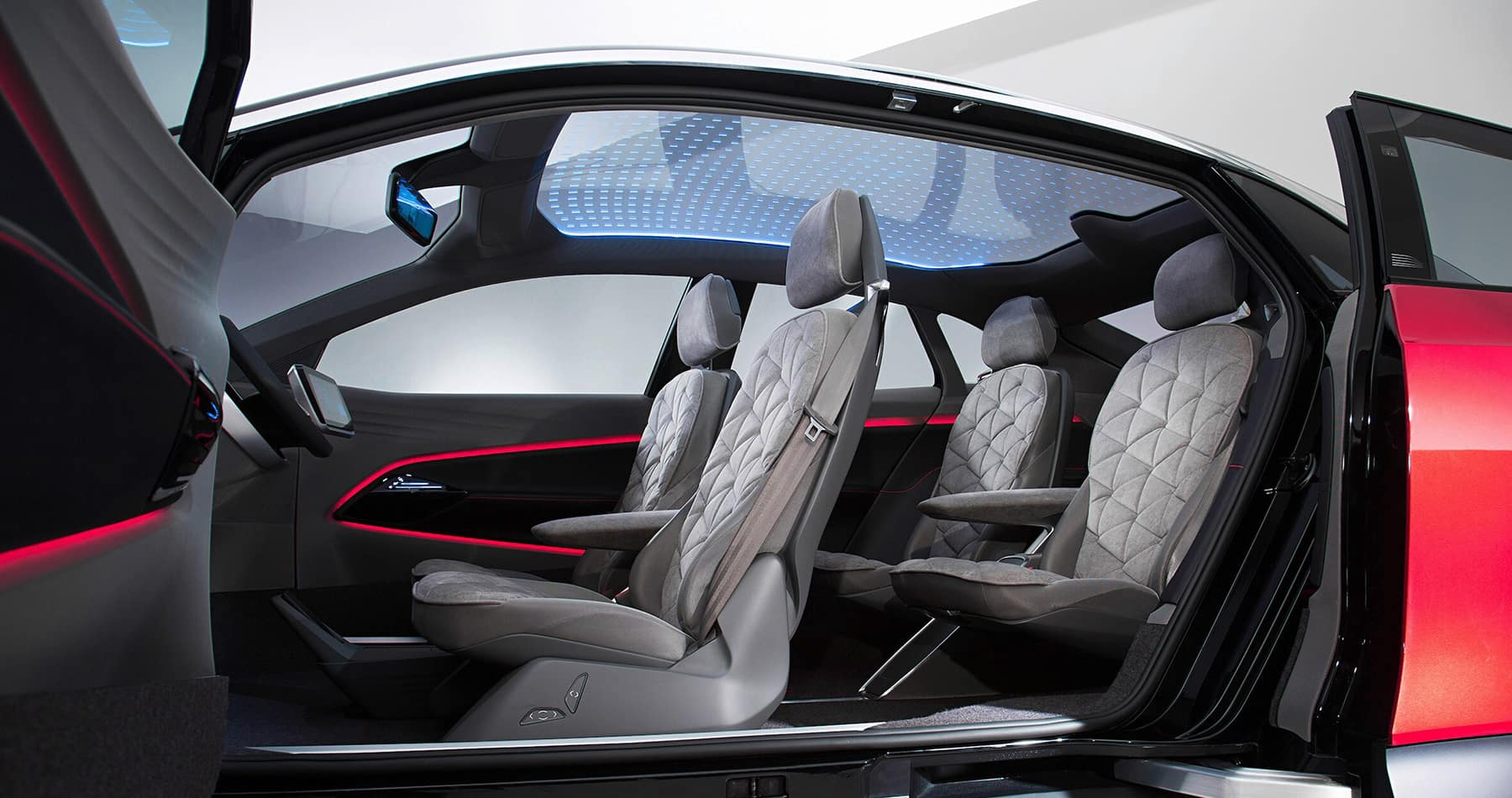 Vehicles of the Future: the ID., ID. CROZZ, and ID. BUZZ at Hanover Volkswagen  of Hanover | The interior of the ID.CROZZ