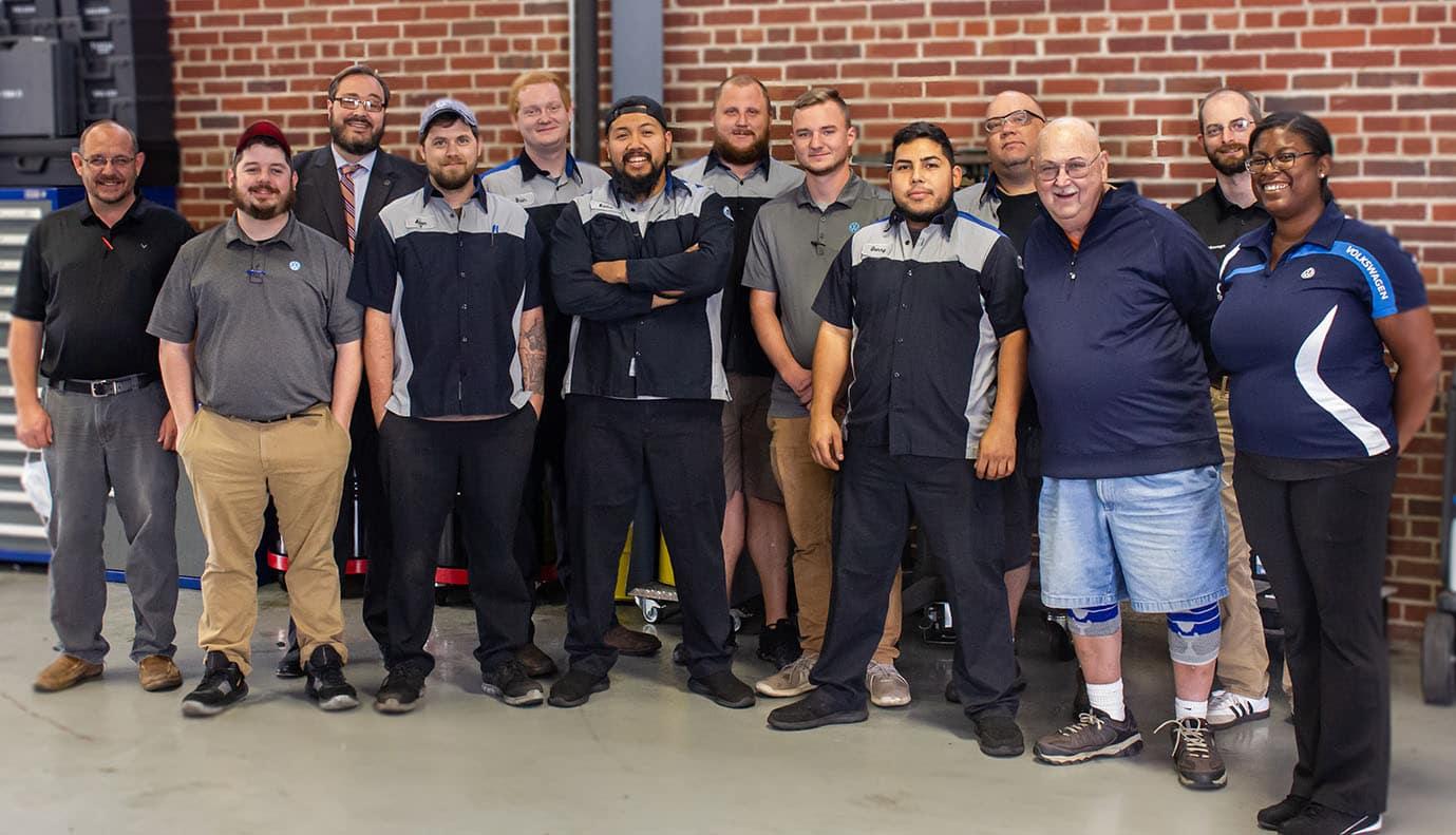 Hanover Volkswagen Service Team