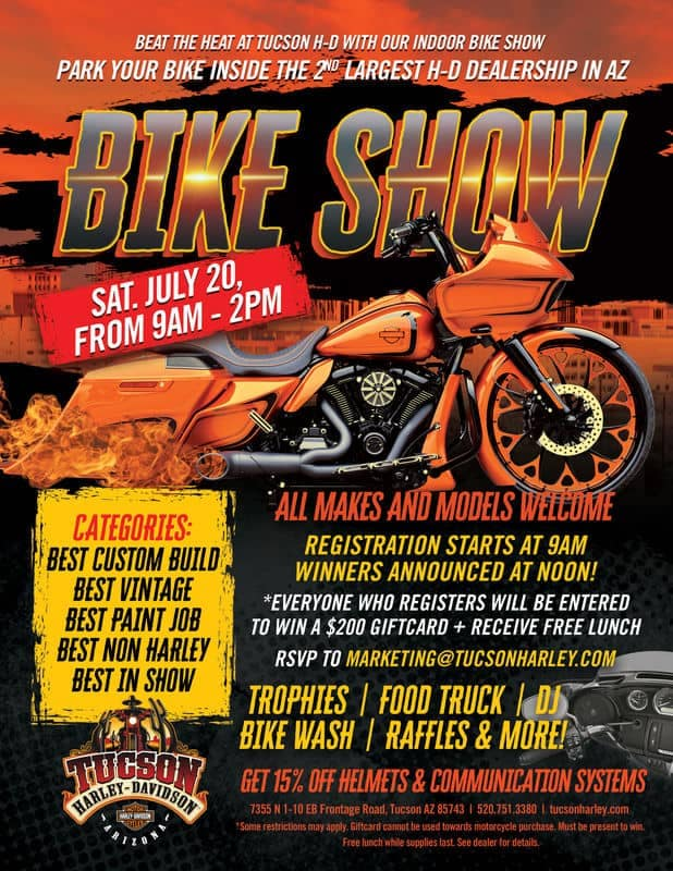 Bike Show July 20