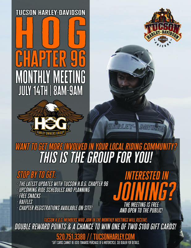 July Hog Chapter 96 meeting