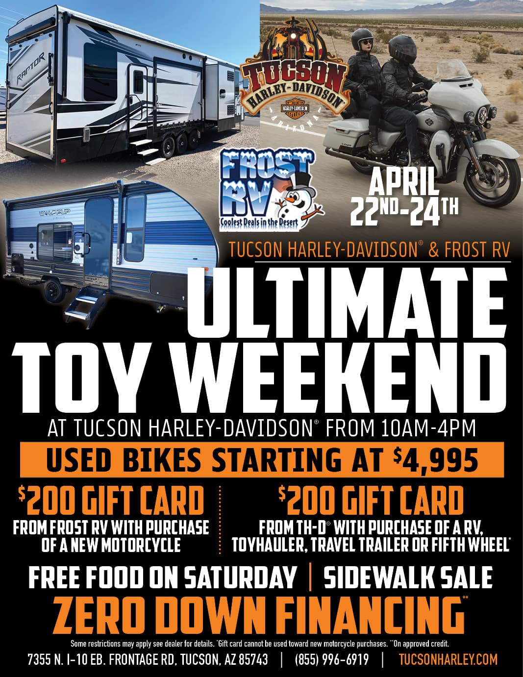 Ultimate Toy Weekend at Tucson Harley