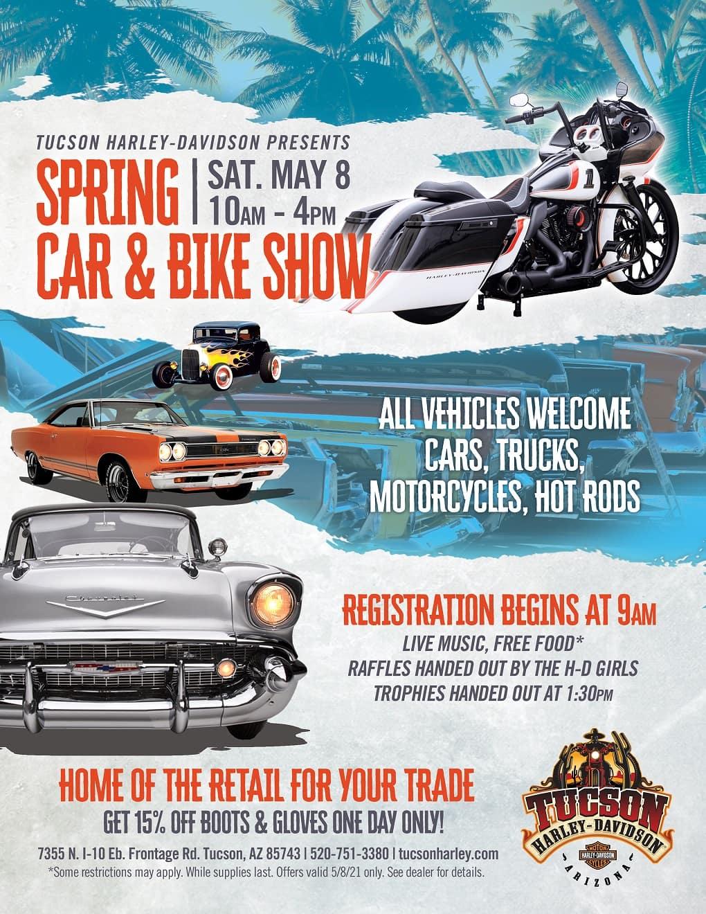 Tucson Harley Car and Bike Show