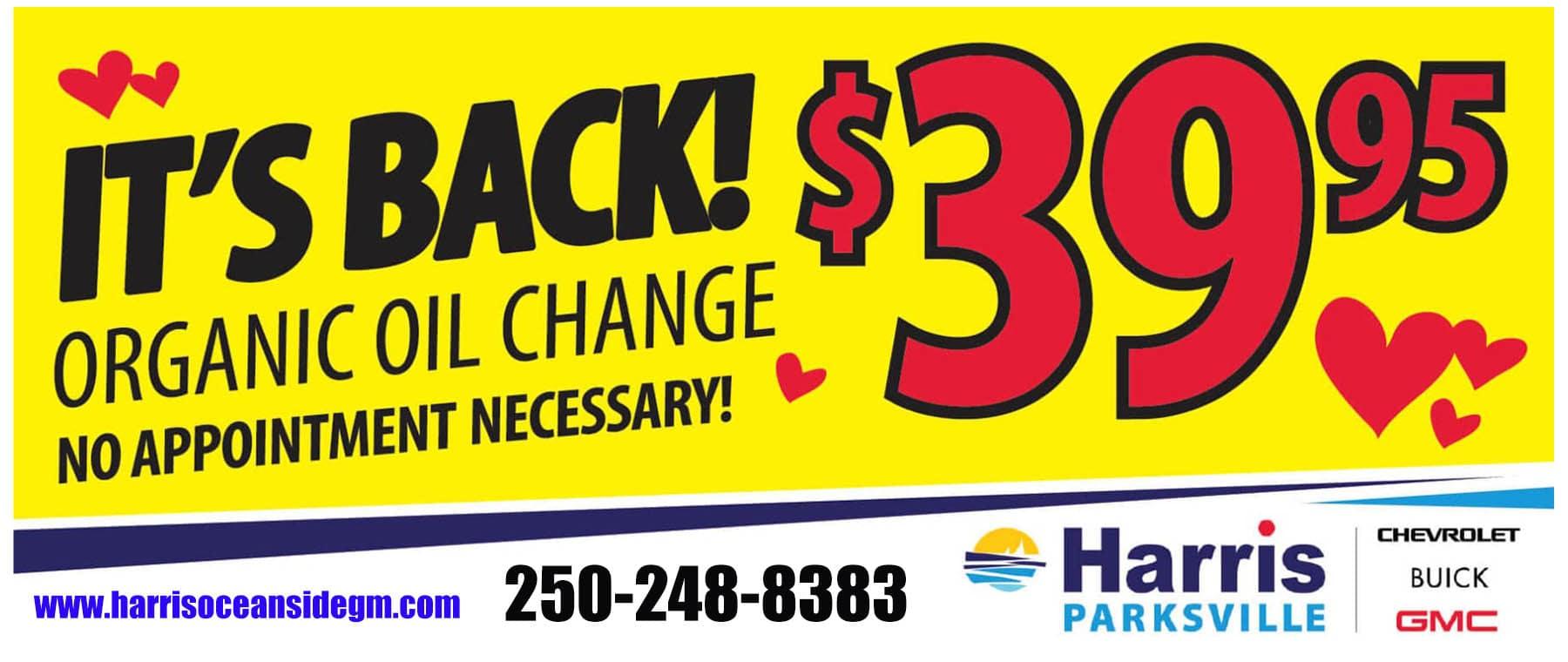 3995 Oil Change Harris (1)