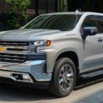2020 chevrolet siverado 1500 parked outside silver exterior