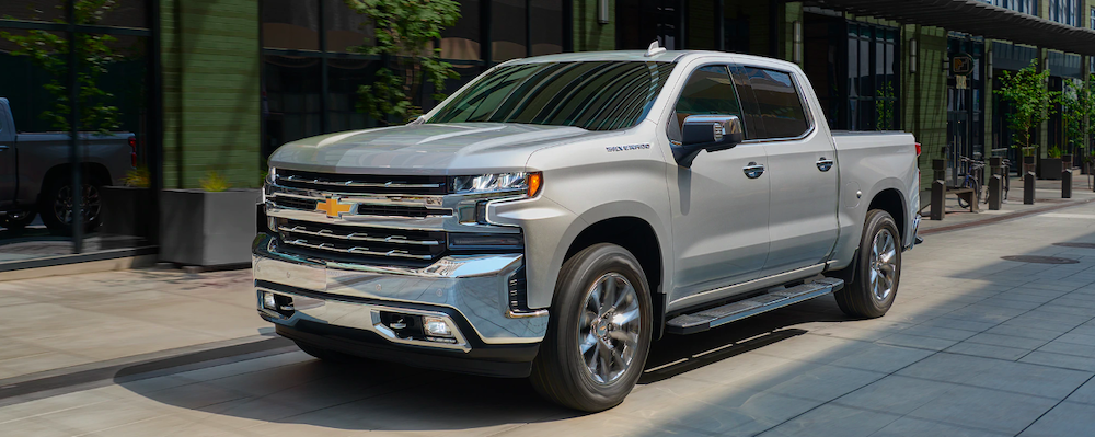 2020 chevrolet siverado 1500 parked outside silver exterior