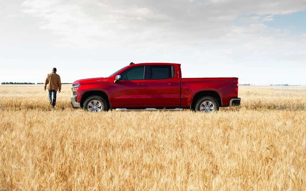 2020 Chevy Silverado 1500 In field