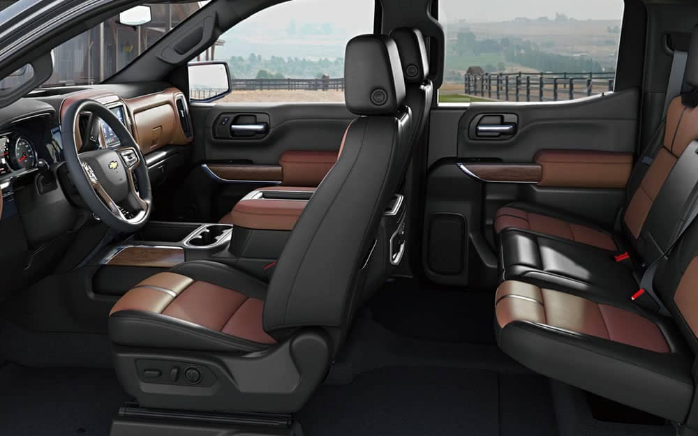 2020 Chevy Silverado 1500 Seating