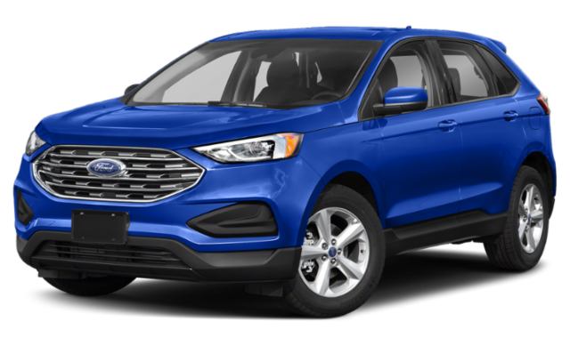 2020 ford edge blue exterior