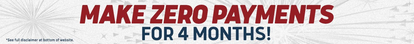 Make zero payments for 4 months