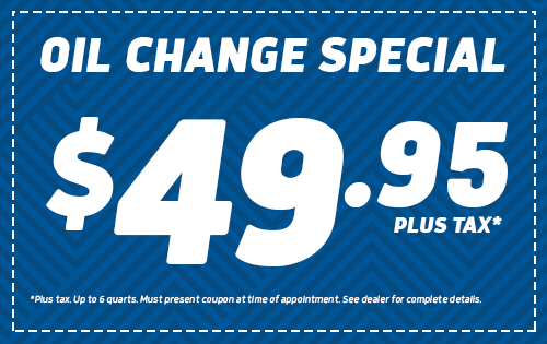 Oil Change Special - $49.95