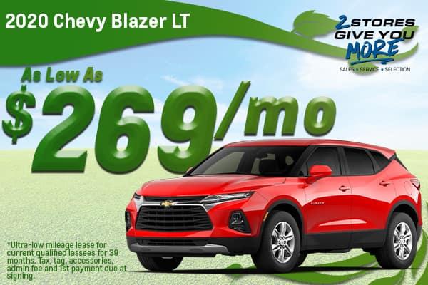 2020 Chevy Blazer