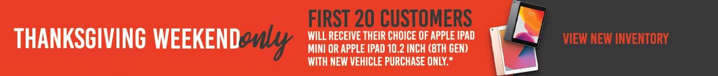 ChevCadMonroe_Nov20_CW_iPadGiveaway_1400x150(Chevrolet)