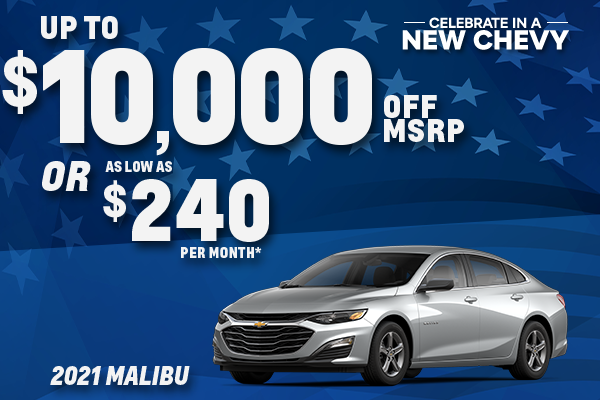 2021 Chevy Malibu