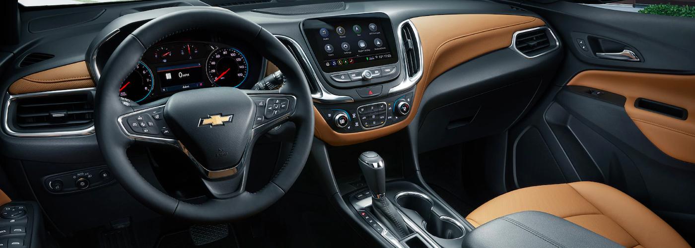 2020 chevrolet equinox interior dashboard view